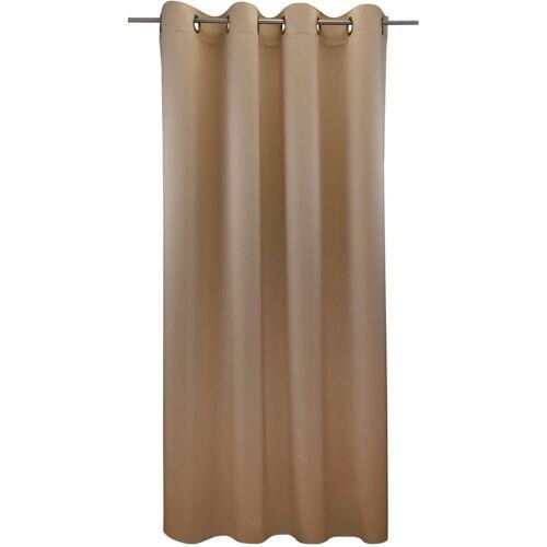 "VHG Vorhang »Ben1«, , Ösen (1 Stück), Vorhang ""Ben"", , mit Ösen, beige"