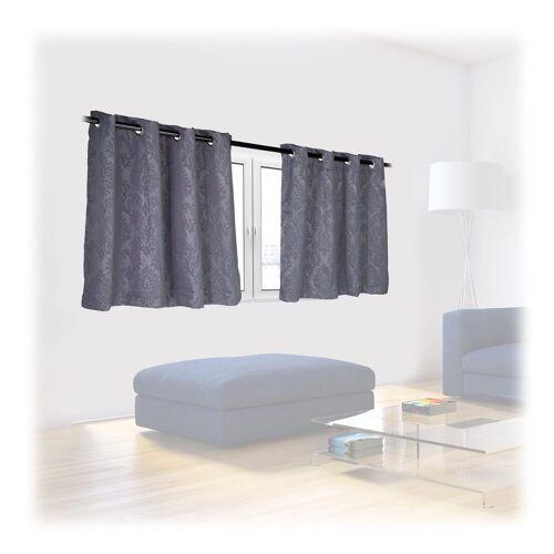 relaxdays Vorhang »Vorhänge 2er Set mit Muster«,