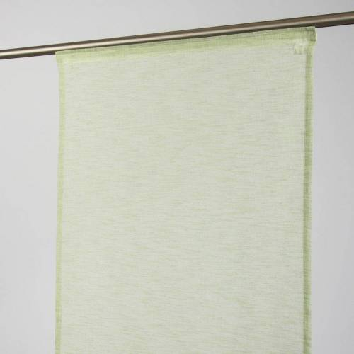 SCHÖNER LEBEN. Vorhang »Schiebevorhang Flächenvorhang Leinenoptik Lanao grün 245x60cm«, , (1 Stück)