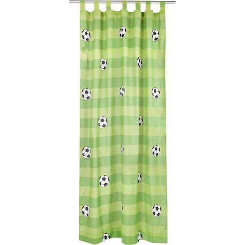MyToys-COLLECTION Vorhang »Vorhang Set Eule, inkl. Bügelband, je 245 x 140 cm«, , grün