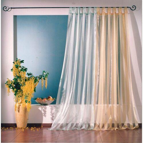 Weckbrodt Vorhang »Lara«, , Schlaufen (1 Stück), Schlaufen, gelb