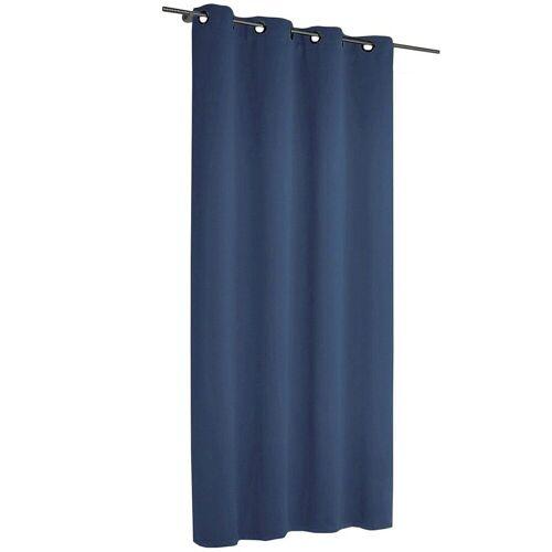 Albani Vorhang »Vorhang Black Out, blickdichter«, , blau