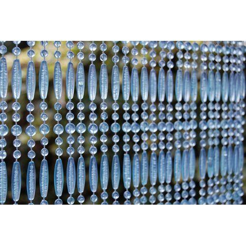 La Tenda Türvorhang »CASA Türvorhang FREJUS 3 Perlenvorhang Fliegenvorhang Terrasentürvorhang Balkonvorhang hellblau«, , individuell in der Länge kürzbar