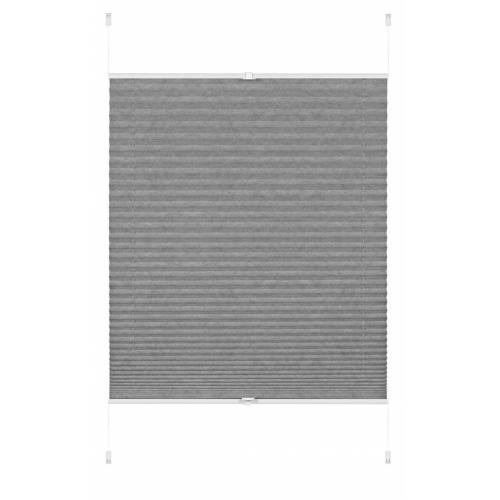 GARDINIA Plissee »EASYFIX Plissee Lilly Green grau 90 x 130 cm«, , blickdicht
