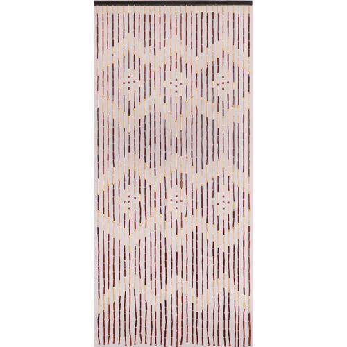 CONACORD Türvorhang »Türvorhang Menam Holzperlenvorhang Perlenvorhang Bambusvorhang Raumteiler Vorhang«, , handgearbeitet und lackiert