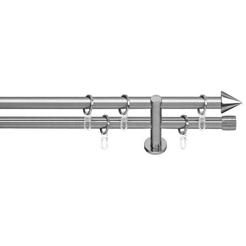 indeko Gardinenstange »Brig«, , Ø 20 mm, 2-läufig, Fixmaß