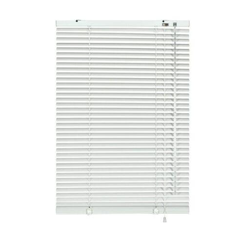 GARDINIA Jalousie »Aluminium-Jalousie 25 mm weiß 120 x«,