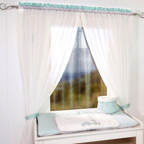Be Be's Collection Vorhang »Vorhang Kleine Prinzessin, 150 x 100 cm (2 Schals)«, , mint