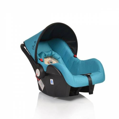 Moni Babyschale »Babyschale Gala, Gruppe 0+«, 3 kg, (0 - 13 kg), Sitzpolster, Fußabdeckung, türkis