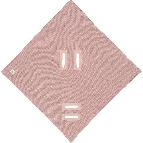 Lässig Einschlagdecke »Einschlagdecke für Babyschale, mint«, , rosa