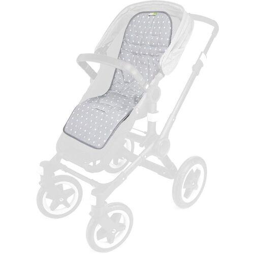 priebes Kinderwagen-Sitzauflage »Sitzauflage Sissi für Kinderwagen«, stars grau