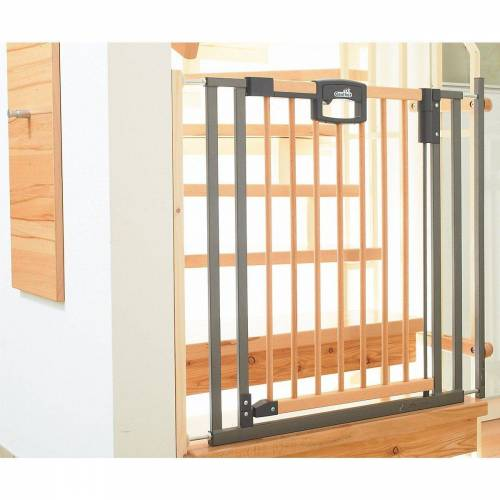 Geuther Treppenschutzgitter »Treppenschutzgitter Easy Lock Wood, Holz / Metall,«