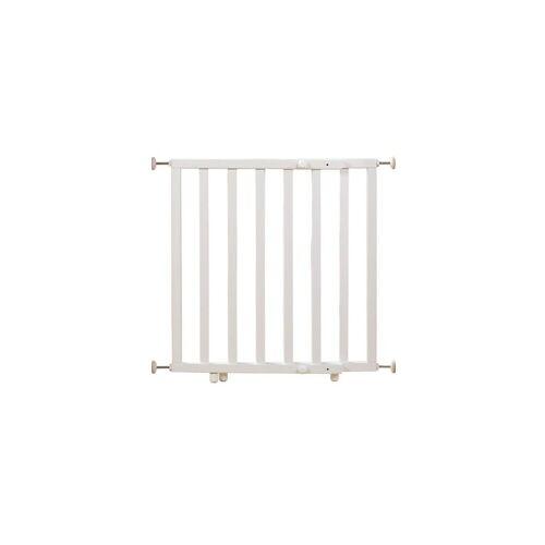 roba® Türschutzgitter »Schutzgitter Holz, 62-106 cm, weiß«