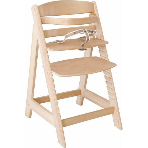 roba® Hochstuhl »Treppenhochstuhl Sit up III, natur«, aus Holz