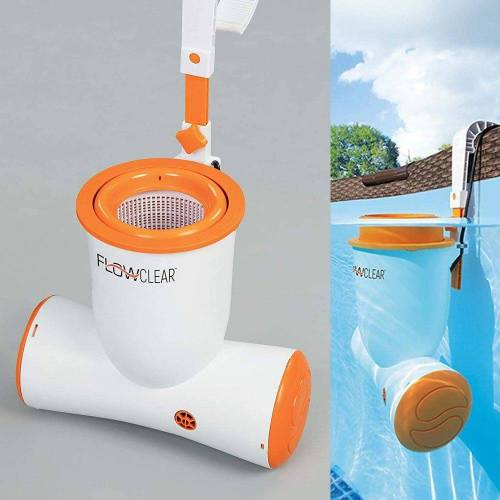 BESTWAY Pool-Filterpumpe »Flowclear Skimatic 2-in-1 Einhängeskimmer«