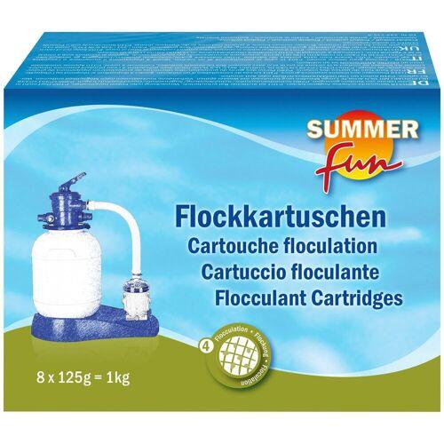 SUMMER FUN Poolpflege »Flockungskissen«, 8 x 125 g