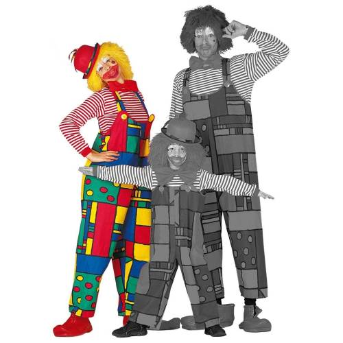 Wilbers Kostüm »Jerry der Clown Latzhose für Damen«
