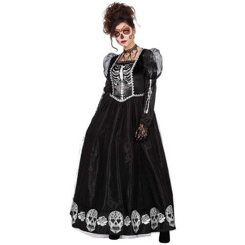 Wilbers Kostüm »Dia de los Muertos Ballkleid Damenkostüm«