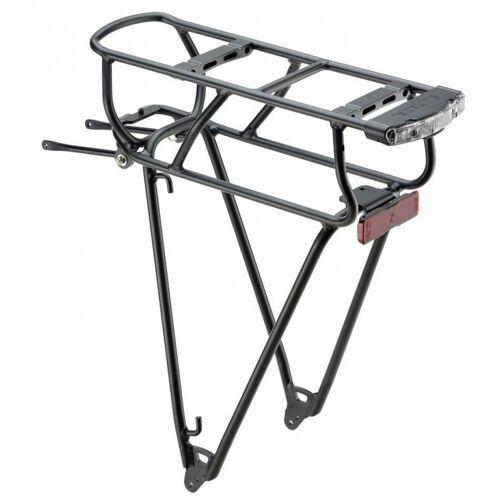 racktime Fahrrad-Gepäckträger »System-Gepäckträger Bosch Shine schwarz,«