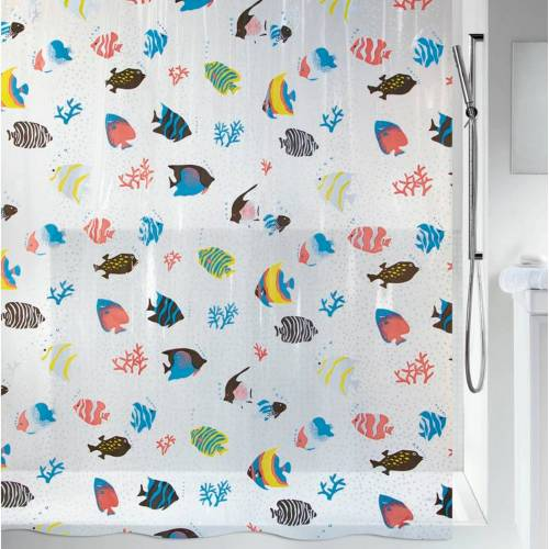 spirella Duschvorhang »Fish« Breite 180 cm, Höhe 200 cm