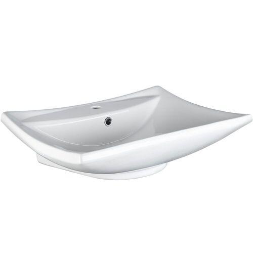 tectake Waschbecken »Waschbecken aus Keramik«