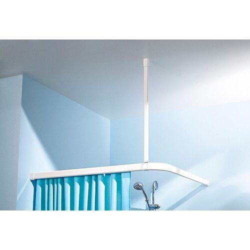 Kleine Wolke Duschstangen-Deckenhalter, , Vorhangstangen, Länge 60 cm