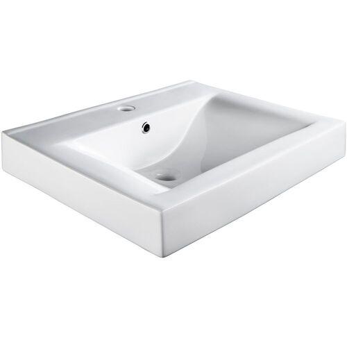 tectake Waschbecken »Waschbecken aus Keramik, rechteckig«