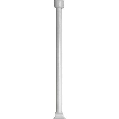 WENKO Duschstangen-Deckenhalter, , Vorhangstangen, für Teleskop-Duschstange