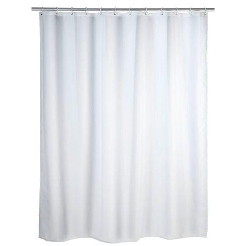 WENKO Duschvorhang »Uni Weiß« Breite 200,00 cm, 180 x 200 cm, waschbar