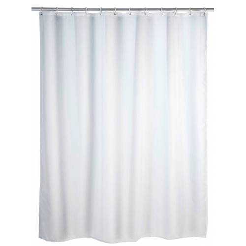 WENKO Duschvorhang »Uni Weiß« Breite 200,00 cm, 120 x 200 cm, waschbar