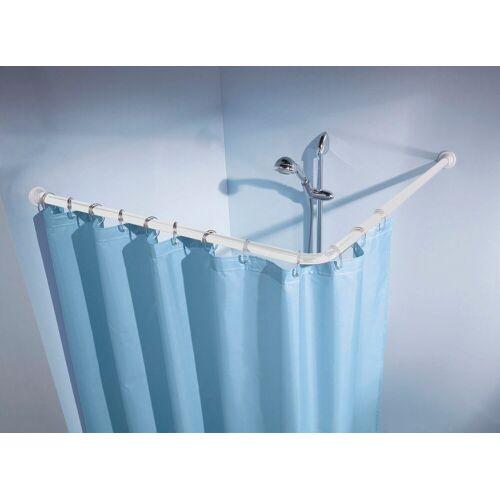 Kleine Wolke Winkelstange »Duschvorhangstange«, , Ø 25 mm, kürzbar, für Duschvorhänge, Länge 90 cm