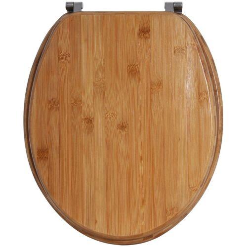 MSV WC-Sitz »BAMBUS«, Bambus