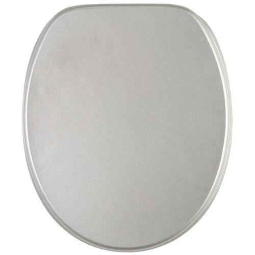 Sanilo WC-Sitz »Glitzer«, silberfarben