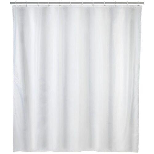 WENKO Duschvorhang »Uni Weiß« Breite 240 cm, weiß