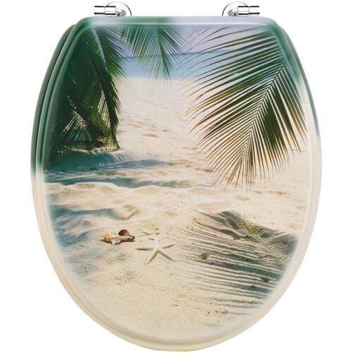 WC-Sitz »Palmen am Strand«