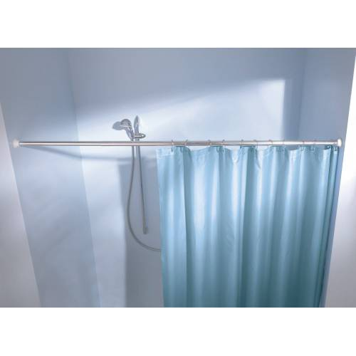 Kleine Wolke Federstange »Duschvorhangstange«, , Ø 25 mm, ausziehbar, für Duschvorhänge, Länge Breite 125-220 cm