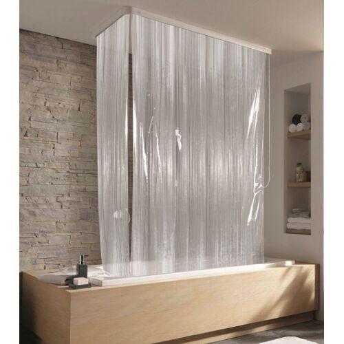 Kleine Wolke Eck-Duschrollo »Eck-Duschrollo« Breite 134 cm, ausziehbar, 134 x 240 cm, transparent