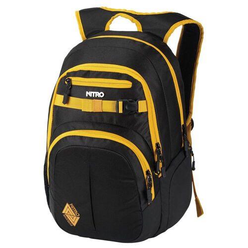 """NITRO Laptoprucksack »Chase Laptop-Rucksack 51 cm 17""""«, golden black"""