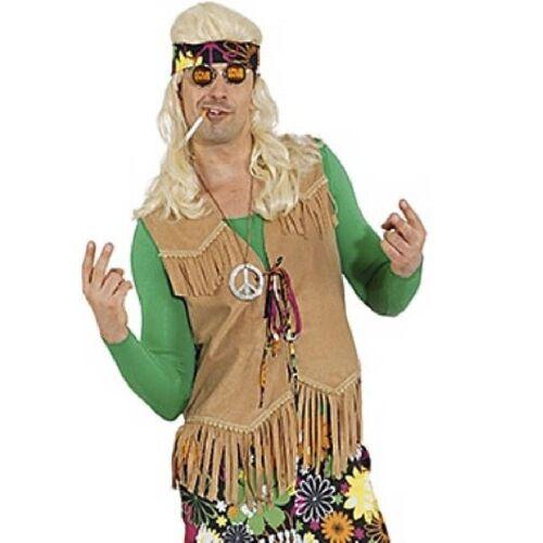 Orlob Kostüm »70er Hippie Fransen Weste für Herren«
