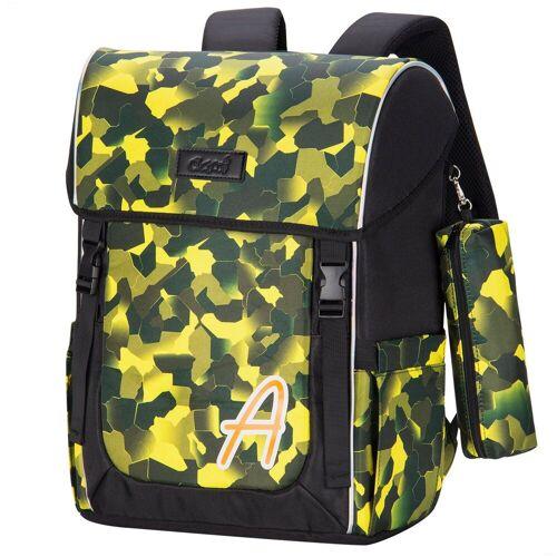 AHST Laptoprucksack (Notebookrucksack, Durchdachtes Design), Rucksack Base, Armeegrün