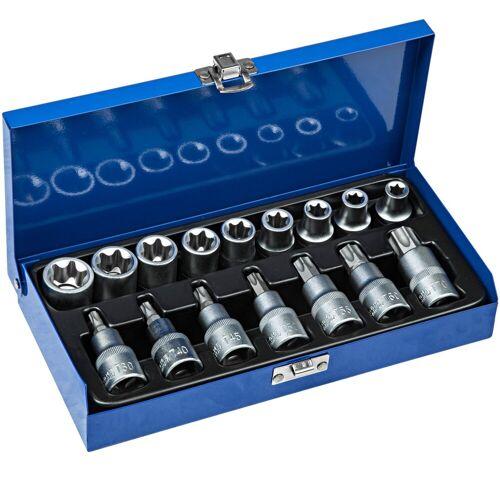 tectake Steckschlüssel »Torx Steckschlüsselsatz 17-tlg.«