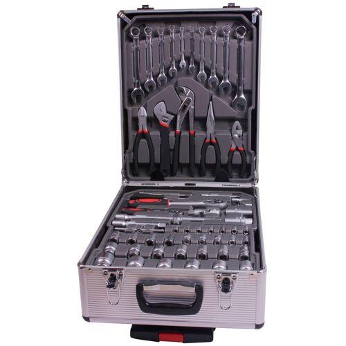 Atrox Werkzeugset »Werkzeug-Trolley 186-tlg.«, (Set, 186-St)