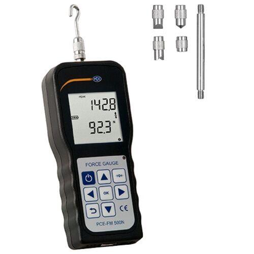 PCE Instruments Luftdruckmessgerät »PCE Kraftmessgerät Zug- und Druckkraft Dynamometer PCE-FM 500N«