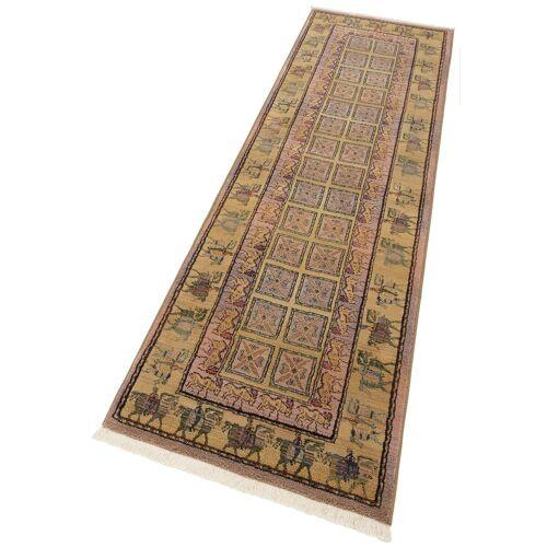 Oriental Weavers Läufer »Gabiro Pazyryk«, , rechteckig, Höhe 11 mm, Teppich-Läufer, gewebt, Orient-Optik, mit Fransen, hell