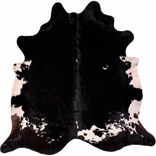 LUXOR living Fellteppich »Rinderfell 4«, , fellförmig, Höhe 3 mm, echtes Rinderfell, Naturprodukt - daher ist jedes Rinderfell ein Einzelstück, Wohnzimmer
