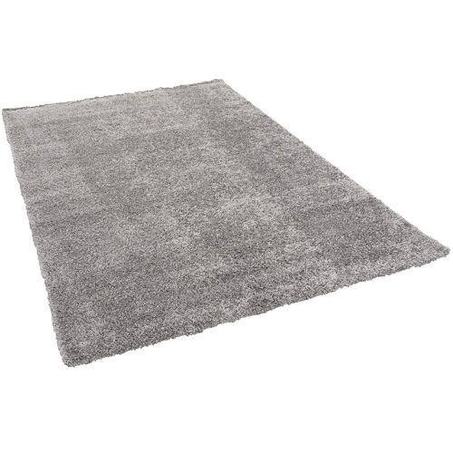 Pergamon Hochflor-Teppich »Hochflor Langflor Teppich Aloha«, , Höhe 40 mm, Grau