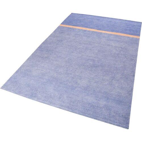 Esprit Teppich »Calippo Kelim«, , rechteckig, Höhe 6 mm, Wohnzimmer, blau