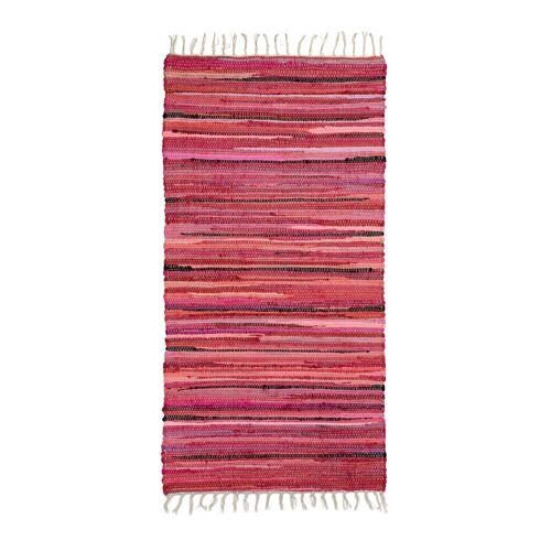 relaxdays Teppich »Flickenteppich mehrfarbig«, , Höhe 10 mm, Rot