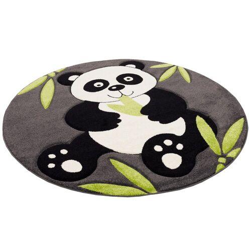 Pergamon Designteppich »Kinder Spiel Teppich Savona Kids Pandabär Rund«, , Rund, Höhe 13 mm
