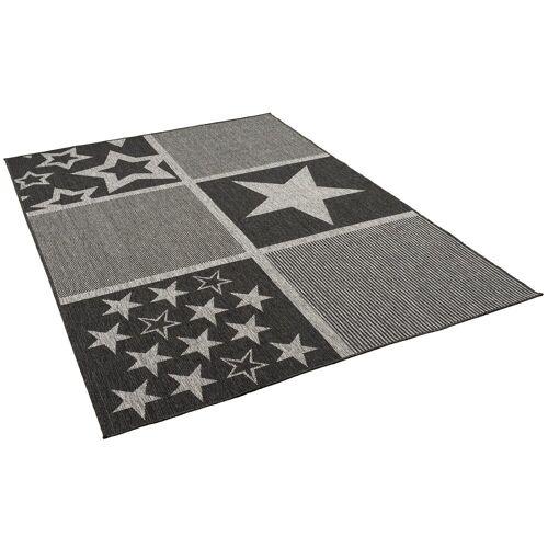 Pergamon Outdoorteppich »In- und Outdoor Teppich Newport Sterne«, , Höhe 4 mm